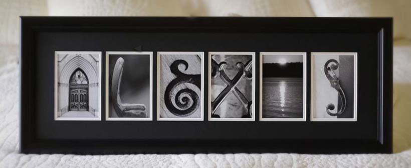 letter photography